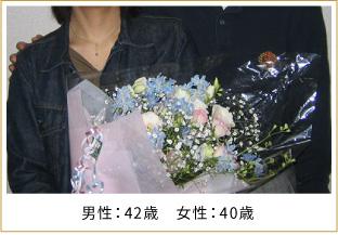 2007年ご成婚 男性33歳 女性29歳