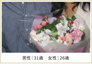 2007年ご成婚 男性38歳 女性34歳