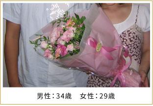 2008年ご成婚 男性34歳 女性29歳