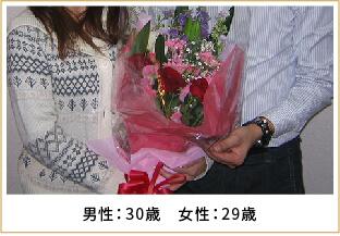 2008年ご成婚 男性36歳 女性29歳
