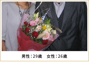 2008年ご成婚 男性35歳 女性32歳