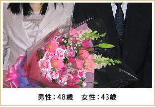2009年ご成婚 男性33歳 女性32歳