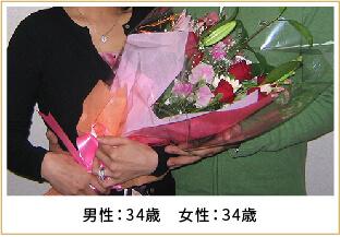 2009年ご成婚 男性34歳 女性34歳