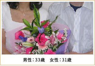 2009年ご成婚 男性50歳 女性34歳