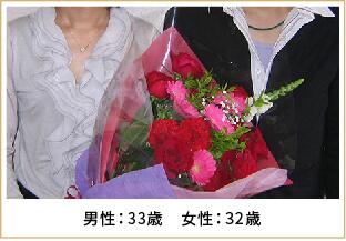 2009年ご成婚 男性48歳 女性43歳