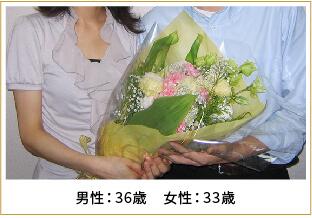 2009年ご成婚 男性36歳 女性33歳