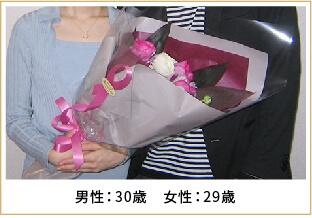 2009年ご成婚 男性46歳 女性41歳
