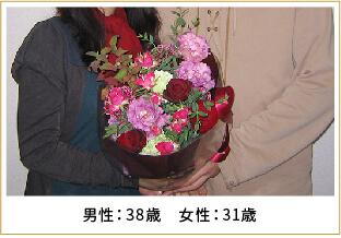 2009年ご成婚 男性37歳 女性30歳