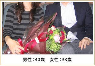 2009年ご成婚 男性36歳 女性31歳