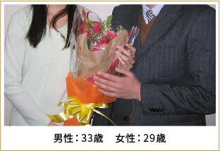 2011年ご成婚 男性41歳 女性39歳
