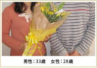 2011年ご成婚 男性41歳 女性37歳