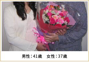 2011年ご成婚 男性33歳 女性28歳