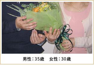 2013年ご成婚 男性47歳 女性39歳