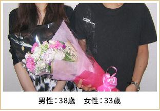 2013年ご成婚 男性37歳 女性30歳