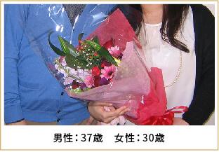 2013年ご成婚 男性36歳 女性30歳