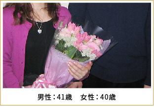 2013年ご成婚 男性32歳 女性29歳