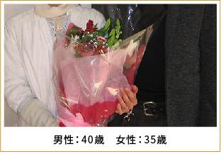 2013年ご成婚 男性30歳 女性28歳