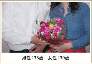 2015年ご成婚 男性35歳 女性30歳
