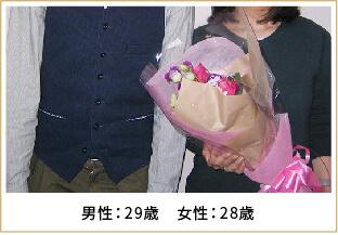 2015年ご成婚 男性29歳 女性28歳