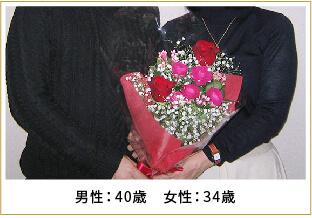 2016年ご成婚 男性40歳 女性38歳