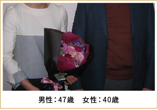 2018年ご成婚 男性34歳 女性33歳