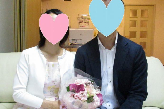ご紹介の時に結婚されると思ったお2人です!