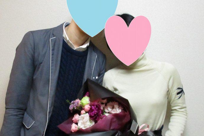 20代同士の爽やかな初々しいカップルの誕生です!