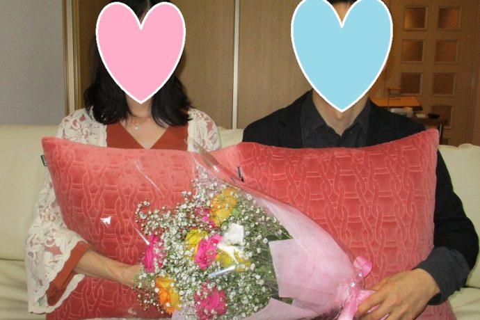 オンラインお見合いでの結婚第1号です!!